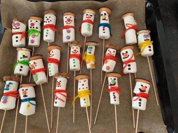 Marshmallow Fingerfood Fur Die Kinderparty